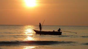 Der Fischer aus das Cafe am Rande der Welt