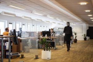 Nachteile von Großraumbüro