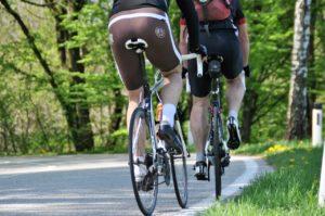 Fahrrad Muskeln