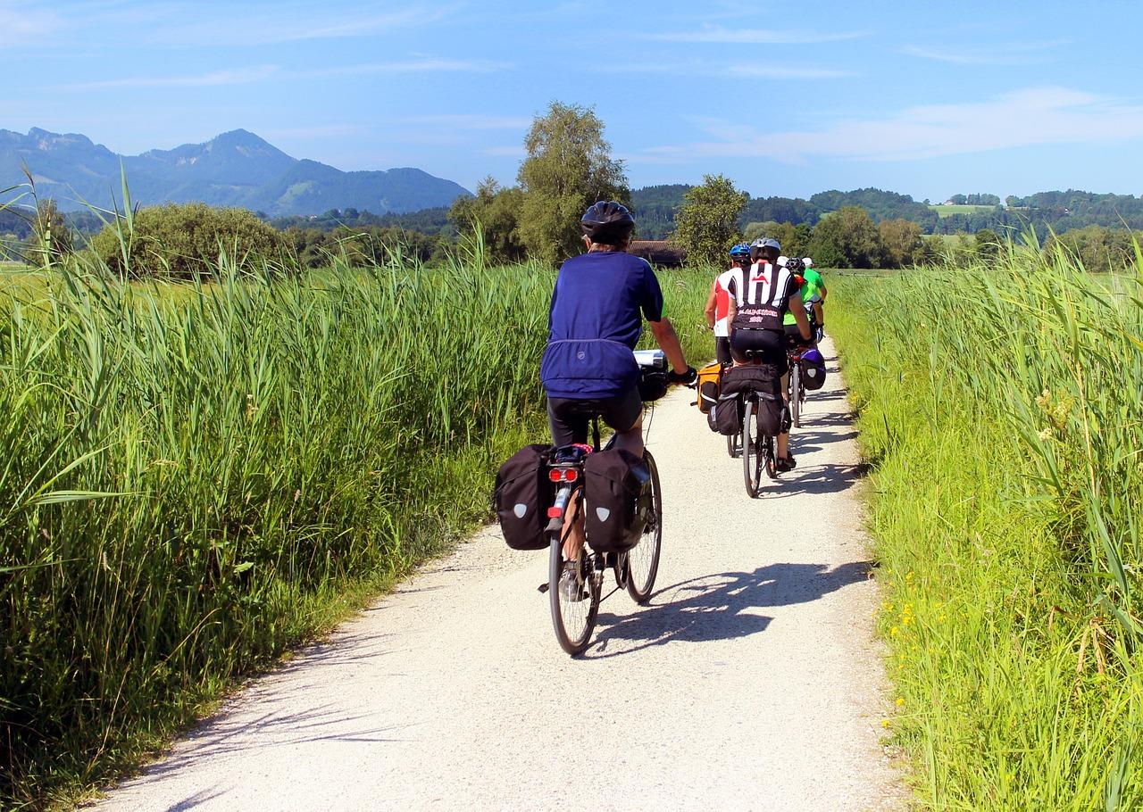Radfahren gesund