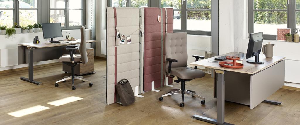 gesundheitsfördernde Büroraumgestaltung